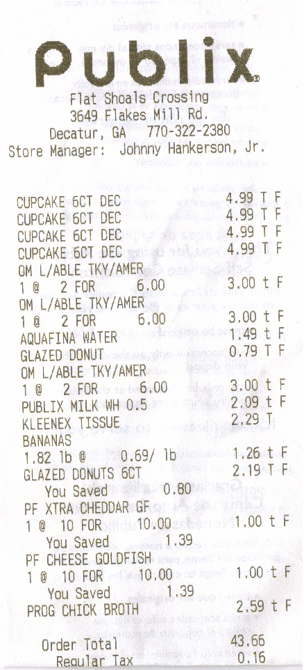 grocery store receipt template professional templates for you