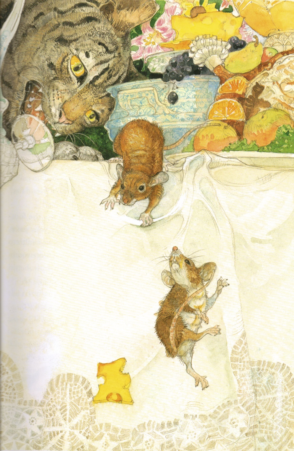 Models Monday Observing The Country Mouse Em Monroe Town And Jerry Pinkney Aesops Fables