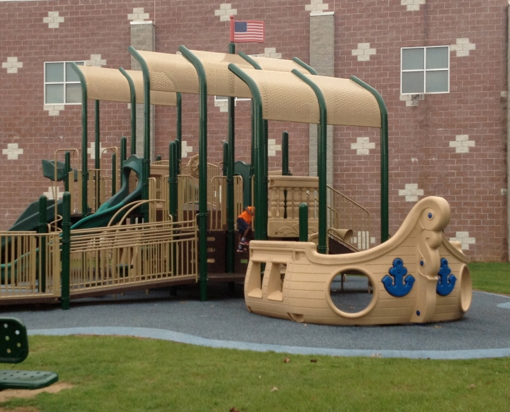 Parks and playgrounds are nice places for children to play.