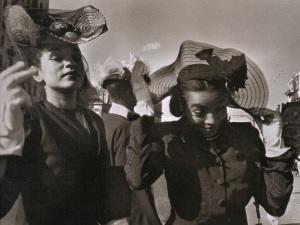 Henri Cartier-Bresson. Easter Sunday, Harlem, 1947.