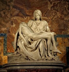 Michelangelo's Pieta, 1498-1499