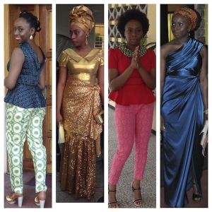 Chimamanda Ngozi Adichie being fly.