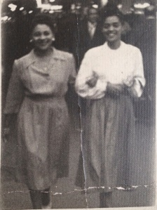 Grandma with her best friend Josephine.