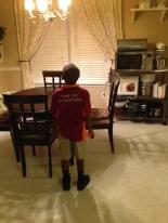My son is 5-years-old, he is not a scholar, he's a student.