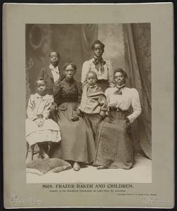 Mrs. Frazer Baker and Children, c. 1899.