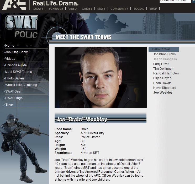Weekley Cast Bio Page